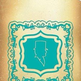 Nellie Snellen Vintasia gofrado y corte de plantilla, Multi-Patrones, Marco de la vendimia con la silueta del camafeo