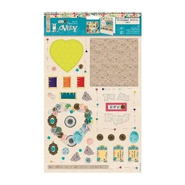 Bilder, 3D Bilder und ausgestanzte Teile usw... Paper block, page 32, sew lovely - Copy - Copy