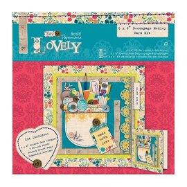 Docrafts / Papermania / Urban Medley Decoupage kort Kit - Sy Lovely