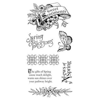 GRAPHIC 45 Rubber Stempel, Sweet Sentiments