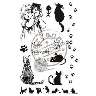 Marianne Design Clear stempels, zoete Kitty