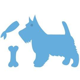 Marianne Design Gofrado y cortar, perro
