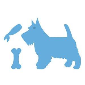 Marianne Design Gaufrage et tapis de coupe, chien