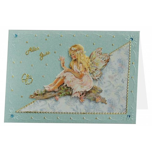 BASTELSETS / CRAFT KITS To design on cards, scrapbook, albums, decoupage and more!