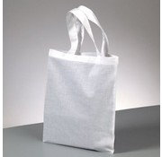 Textil Tote cotton, short handle, to paint, stamp on and much more