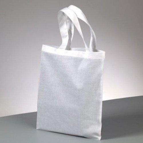 Textil produits de coton, une poche avec fermeture éclair