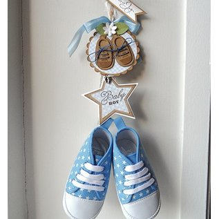 Marianne Design Cutting and embossing stencils Creatables - My first sneakers