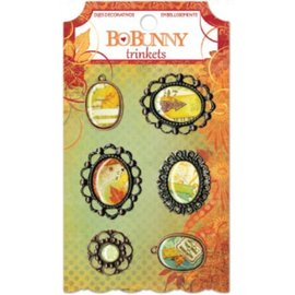 BO BUNNY Bo Bunny bibelots de chansons d'automne, charmes