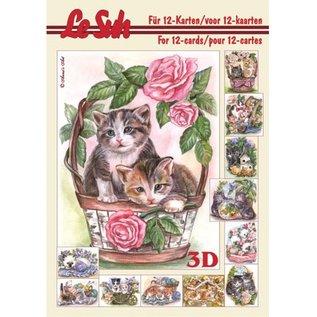 Bücher, Zeitschriften und CD / Magazines 3D Papier A5, CATS