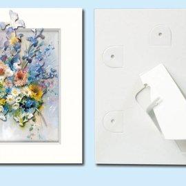 KARTEN und Zubehör / Cards Passepartout f. Tarjetas de arte, 3 en un conjunto