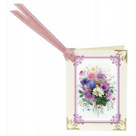 REDDY Rubbelbilder, 16 Blumensträuße für Minikärtchen