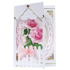 BASTELSETS / CRAFT KITS Bastelset: Clôture Cartes Roses