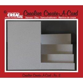 Crealies und CraftEmotions NIEUW: Metal stansmessen voor pop-up kaarten!
