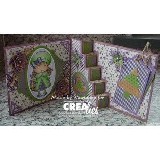 Crealies und CraftEmotions NEU: Metall Stanzschablonen, für Pop-Up Karten!