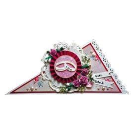 Marianne Design Poinçonnage et de modèle de gaufrage anneaux de mariage