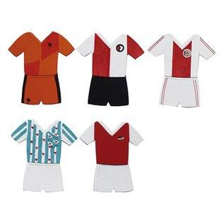Marianne Design Marianne Design, het stempelen en embossing stencil, Collectibles, fussbal