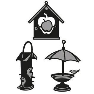 Marianne Design Marianne Design, het stempelen en embossing stencil, Craftables - Tiny's Birdhouse
