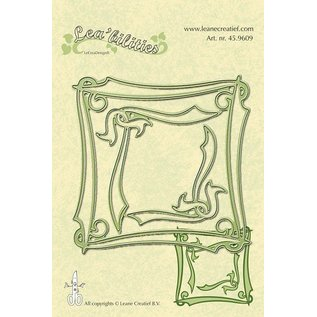 Leane Creatief - Lea'bilities und By Lene Lea'bilities, Präge- und Schneideschablone, Elegante Rahmen