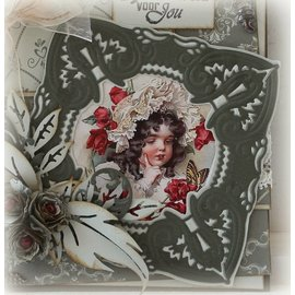 Joy!Crafts / Jeanine´s Art, Hobby Solutions Dies /  Stamping and embossing stencil, Craftables - a beautiful frame