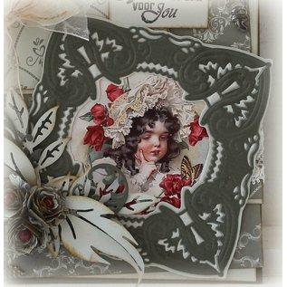 Joy!Crafts / Jeanine´s Art, Hobby Solutions Dies /  Stampaggio e goffratura stencil, craftabili -a magnifica cornice