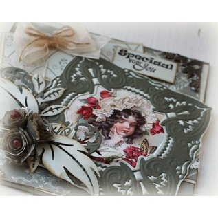Joy!Crafts / Jeanine´s Art, Hobby Solutions Dies /  Stamping and embossing stencil, Craftables -a magnificent setting