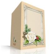 KARTEN und Zubehör / Cards Craft Kit til 3 Decoupage kort + 3 konvolutter
