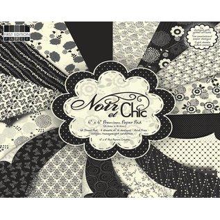"""Karten und Scrapbooking Papier, Papier blöcke Designerblock """"Noir et Chicc"""" von First Edition Paper"""