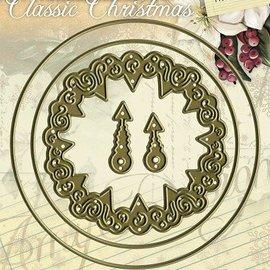AMY DESIGN AMY DESIGN, dø skære og prægning stencil - Classic Clock