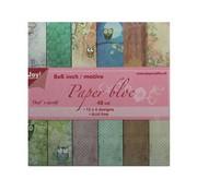 Joy!Crafts / Jeanine´s Art, Hobby Solutions Dies /  blocco della carta, 15x15cm, il mondo della civetta