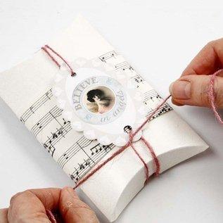 Dekoration Schachtel Gestalten / Boxe ... Carton, LxBxH 10x8x2 cm, 10 stuk
