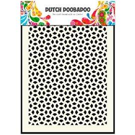 Dutch DooBaDoo Nederlandse kunst Mask - Masker kunst Abstract, A5
