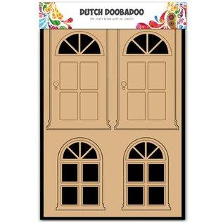 Objekten zum Dekorieren / objects for decorating MDF Nederlandse DooBaDoo, deuren en ramen