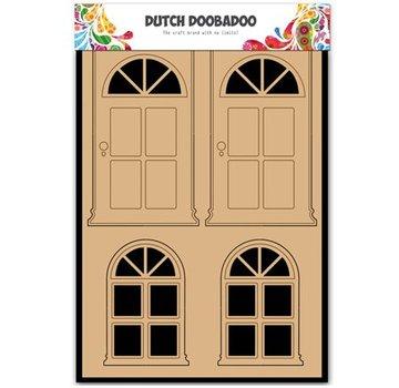 Objekten zum Dekorieren / objects for decorating MDF Dutch DooBaDoo, dør og vindue