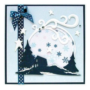 Leane Creatief - Lea'bilities und By Lene Lea'bilities, embossing and cutting mat, home and landscape