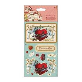 Mini Decoupage - viktorianske Hjerte
