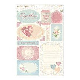 Vintage, Nostalgia und Shabby Shic A4 Toppers die-cut - Notes Vintage - Icônes