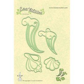 Leane Creatief - Lea'bilities und By Lene Lea'bilities, embossing and cutting template, shell and waves