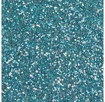 Moosgummi und Zubehör Schiuma foglio di gomma glitter, 200 x 300 x 2 mm, turchese