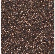 Moosgummi und Zubehör Moosgummiplatte Glitter, 200 x 300 x 2 mm, dark brown