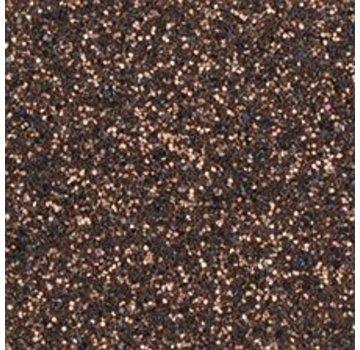 Moosgummi und Zubehör Moosgummiplatte Glitter, 200 x 300 x 2 mm, dunkelbraun