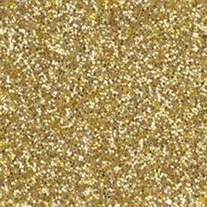 Moosgummi und Zubehör Moss rubber plate glitter, 200 x 300 x 2 mm, gold