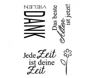 """/""""Advent/"""" A7 Stempel Clear"""