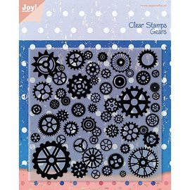 Joy!Crafts / Jeanine´s Art, Hobby Solutions Dies /  Timbri trasparenti, ruote, Gioia Crafts