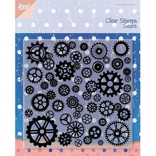 Joy!Crafts / Jeanine´s Art, Hobby Solutions Dies /  Transparent Stempel, Rädchen, Joy Crafts
