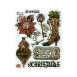 VIVA DEKOR (MY PAPERWORLD) TILBUD! Transparent Stamp, SteamPunk, Christmas av Viva Decor - BEGRENSET!