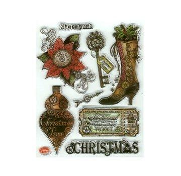 VIVA DEKOR (MY PAPERWORLD) Clear stamps, SteamPunk1, Viva Decor