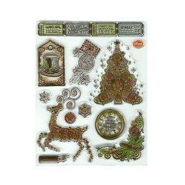 VIVA DEKOR (MY PAPERWORLD) Clear stamps, SteamPunk2, Viva Decor