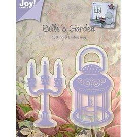 Joy!Crafts / Jeanine´s Art, Hobby Solutions Dies /  Gofrado y cortar, candelabros y lámparas