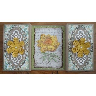 Joy!Crafts / Jeanine´s Art, Hobby Solutions Dies /  Clear stamps, Old Letter Rose