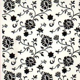embossing Präge Folder Cartelle in rilievo, casetta floreale, A6, 14,8 x 10,5 centimetri